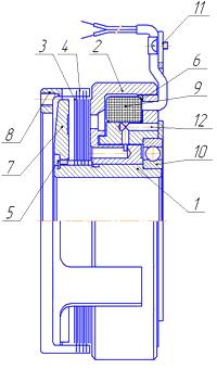 Муфта электромагнитная KLDO-10