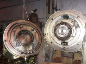 Шпиндельный узел к вертикальному консольно-фрезерному станку FSS 400/1600