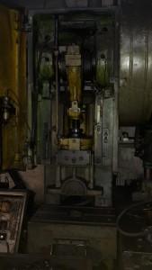Пресс однокривошипный механический КД2126